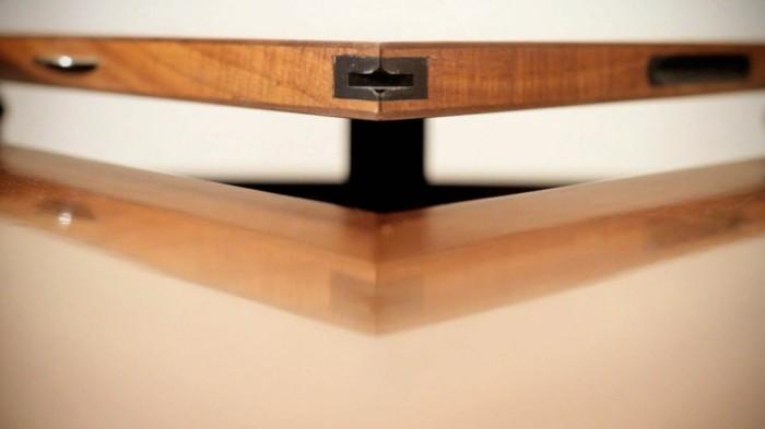 fletcher capstan tisch esstisch rund ausziehbar detail