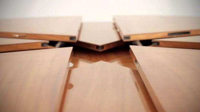 fletcher capstan tisch esstisch rund ausziehbar fragment