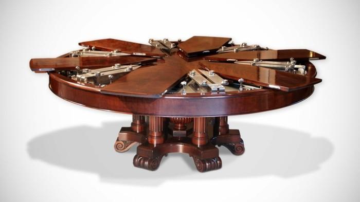 fletcher capstan tisch esstisch rund ausziehbar genial