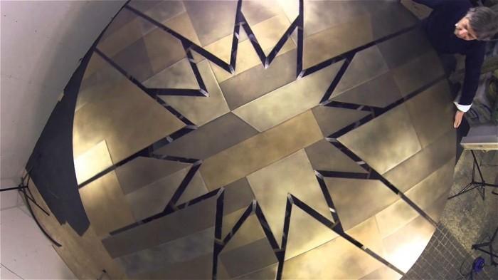 fletcher capstan tisch esstisch rund ausziehbar metall