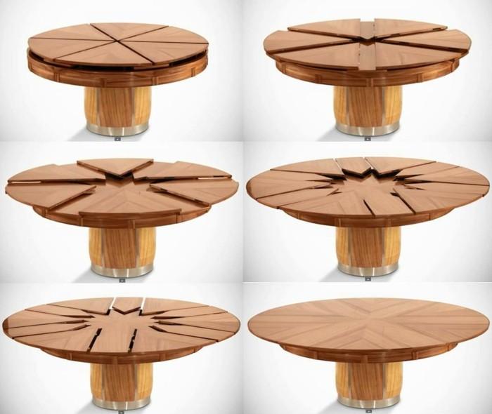 fletcher capstan tisch esstisch rund ausziehbar universale gelometrie