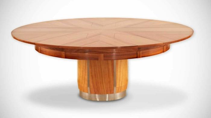 Fletcher capstan tisch der esstisch ihres lebens for Tisch ausziehbar rund