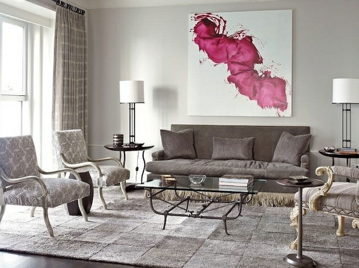 fransen couch wohzimmer polstermöbel sessel weicher teppich