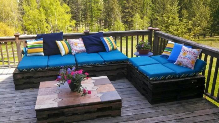 gartenmoebel aus paletten terrassenmoebel