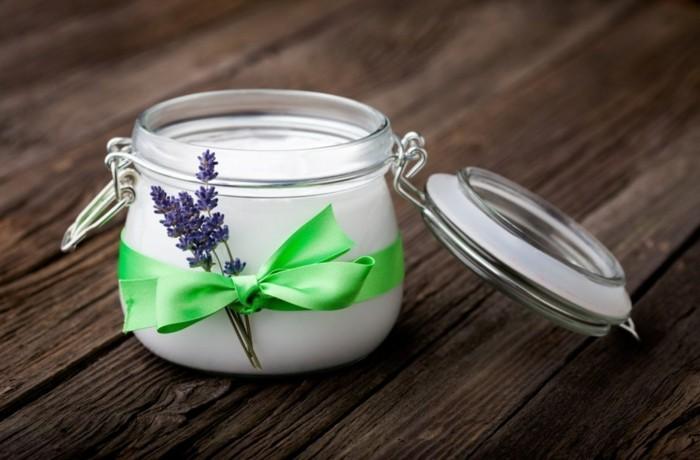 geschenkideen lavendelöl selber machen im glas