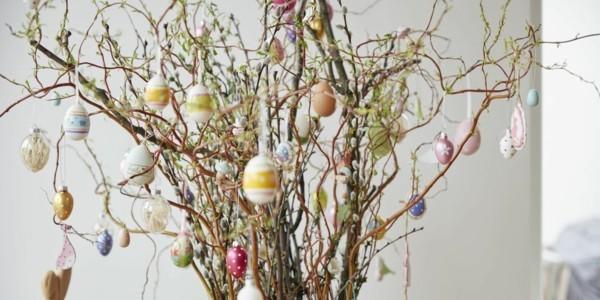 Ostereier deko zum aufh ngen tipps und eine tolle anleitung - Baum dekorieren ...