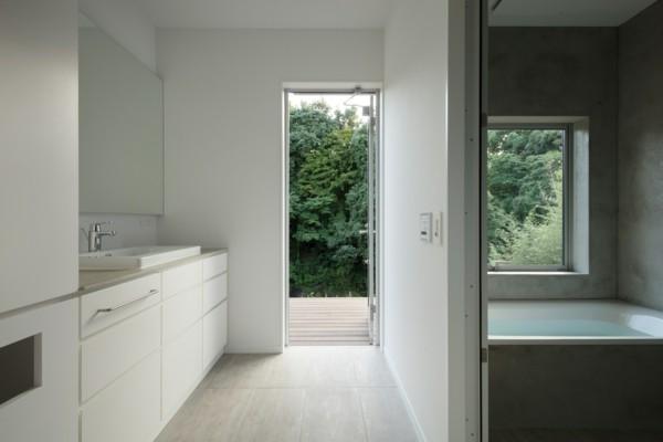 Beispiel f r naturnahe moderne architektur in higashi for Heller raum