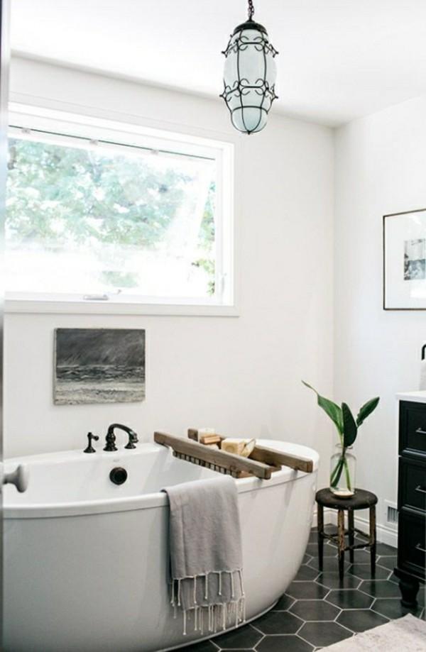 helles badezimmer einrichtung naturdeko
