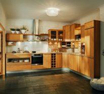 Holzküche einrichten, denn Holz ist ein echter Klassiker…
