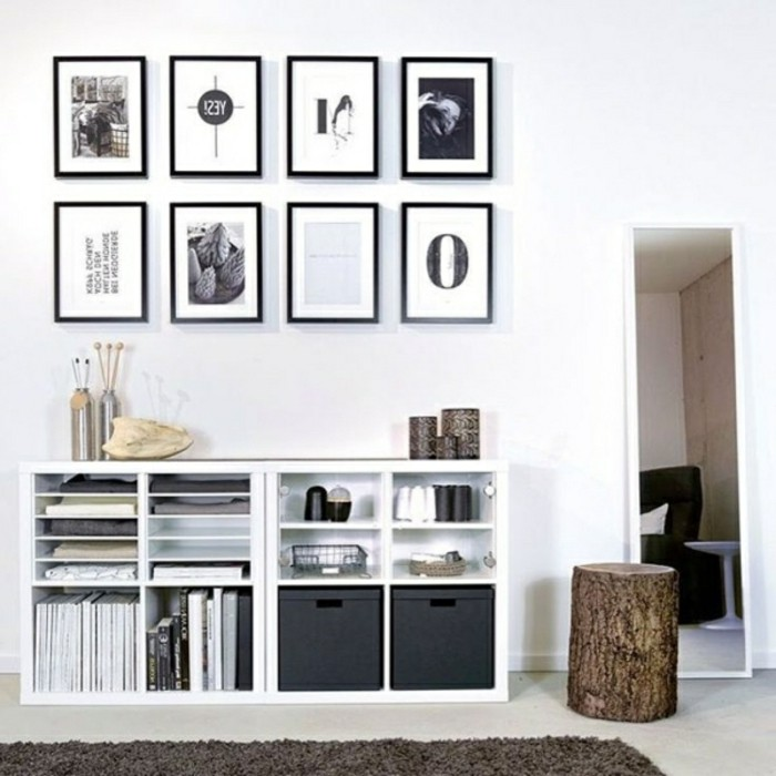 ikea regale kallax flexible vielseitigkeit zum g nstigen. Black Bedroom Furniture Sets. Home Design Ideas