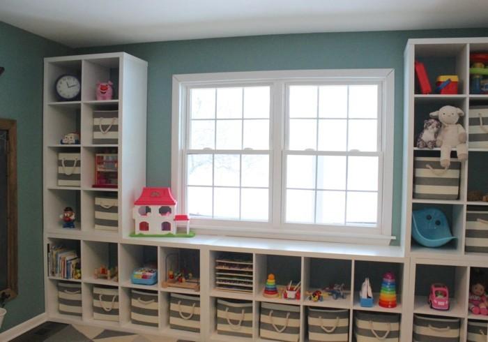 shelf ikea kallax nursery
