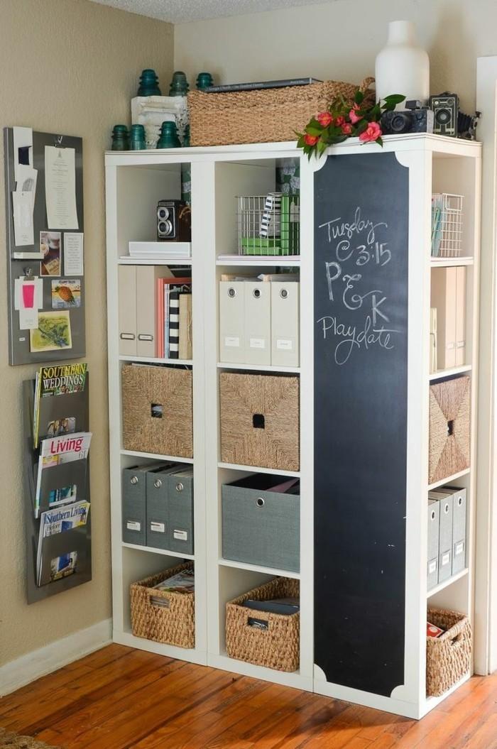 ikea shelf kallax closet vinyl records corner