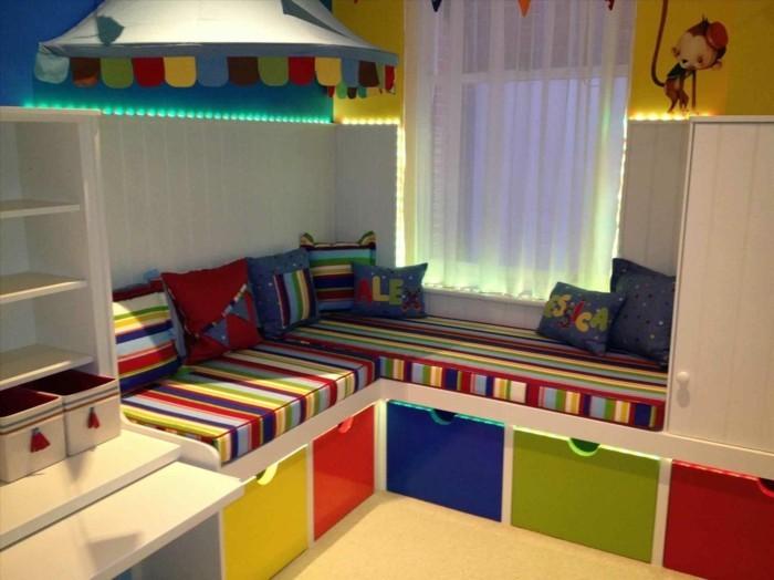 shelf ikea kallax closet chic colorful nursery