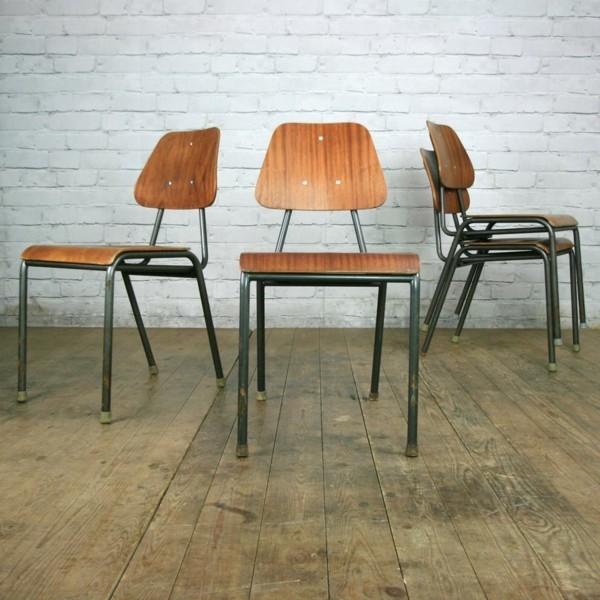 Vintage industriestuhl f r den wohn und essbereich for Vintage einrichtungsideen