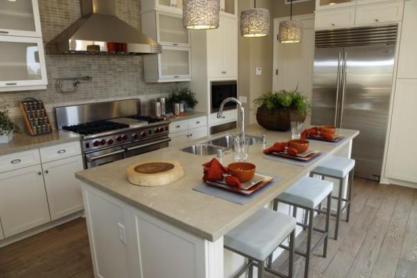 kücheninsel weißer