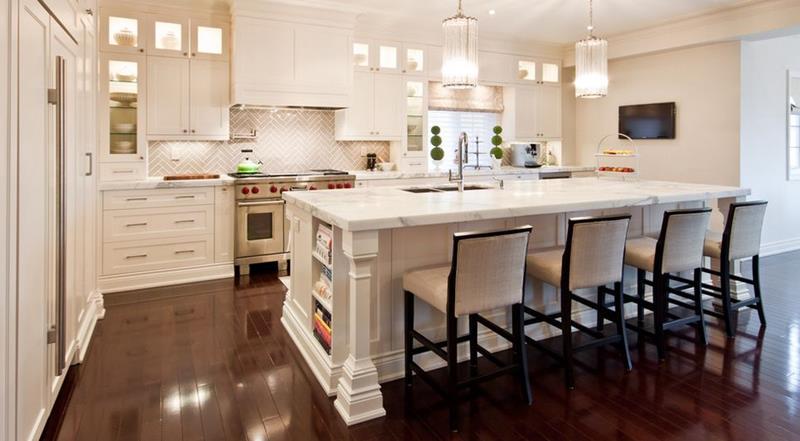 küchenrückwand modern ideen
