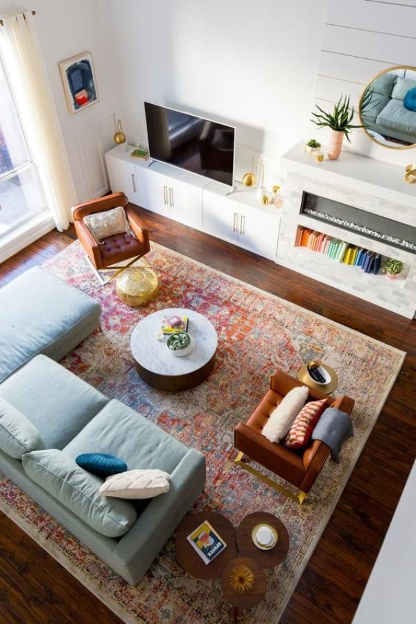 deko trends 2018 teppiche und kelims in h lle und f lle. Black Bedroom Furniture Sets. Home Design Ideas