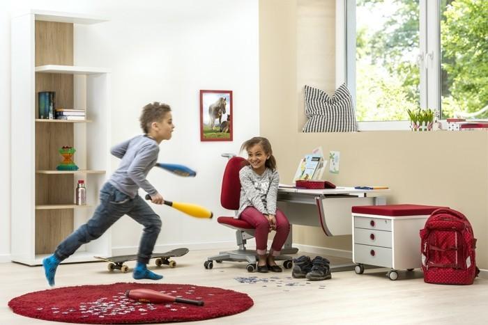 kinderschreibtische kinderzimmer ideen