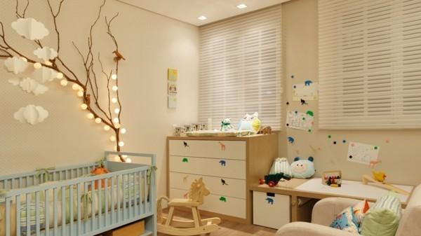 kinderzimmer dekorieren dekoideen mit lichterketten