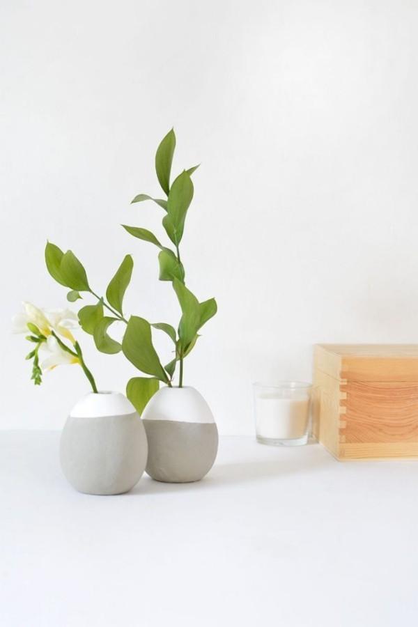 kleine Pflanzer DIY Deko
