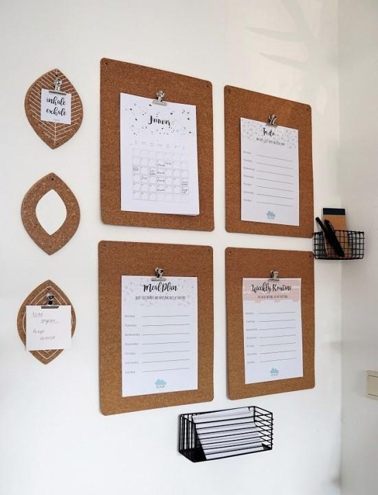 Klemmbrett benutzen f r ihre kreative wanddeko ideen for Ikea wanddeko