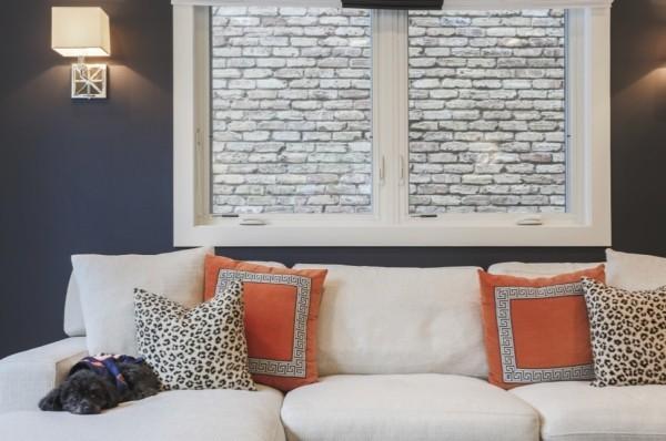 koralle tierprint weißes sofa dekokissen ideen