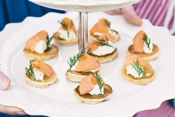 lachs frischkäse dill party fingerfood ideen