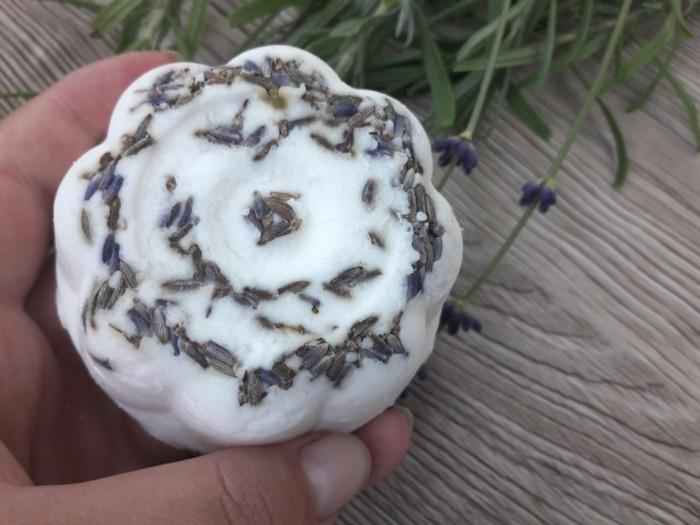 lavendelöl selber machen lavendel shampoo mit kokosöl