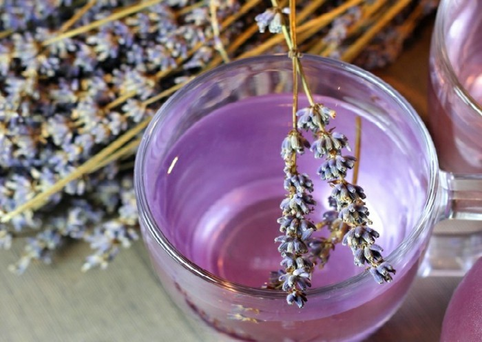 Lavendelöl selber machen lavendelblüten