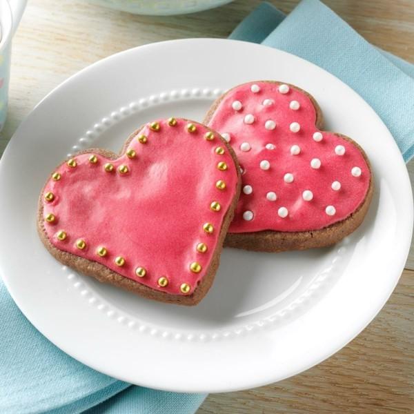 lebkuchen valentinstag geschenke aus der küche