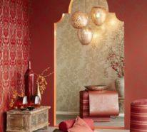 Marokkanische Lampe bringt einen orientalischen Hauch in den Raum