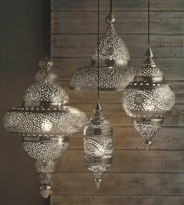 marokkanische lampe kupfer edles design