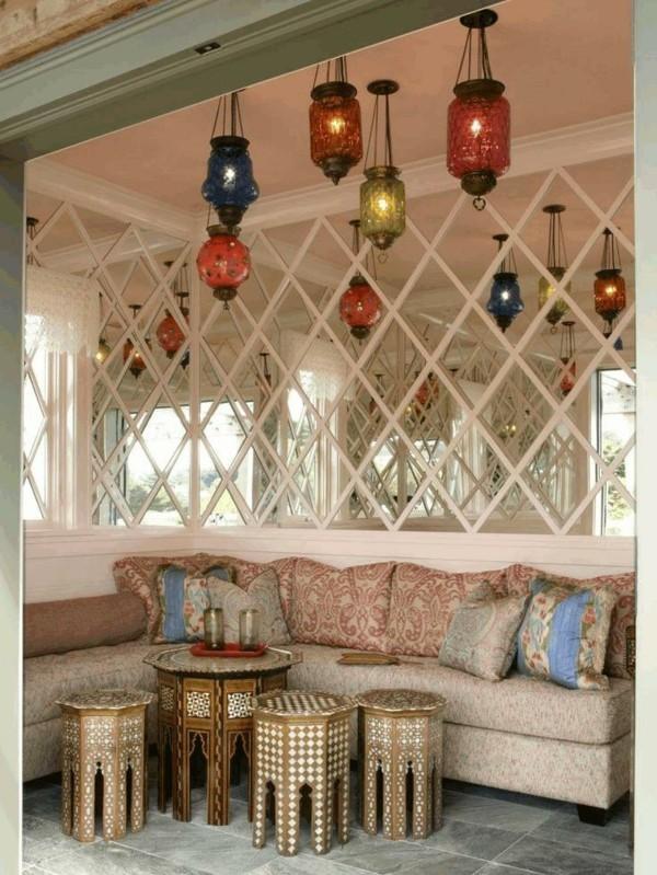 marokkanische lampe marokkanische hängelampen erholungsecke beistelltische
