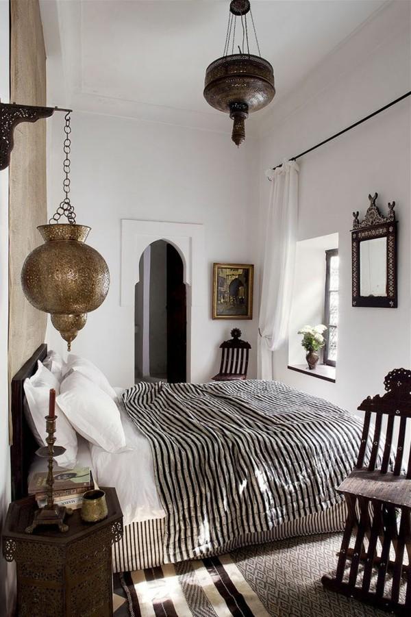 marokkanische lampe neutrale farben gemütliche atmosphäre