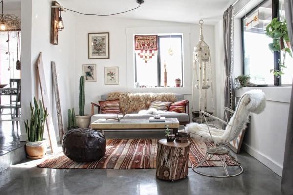 marokkanische lampe wohnzimmer einrichten helle farben