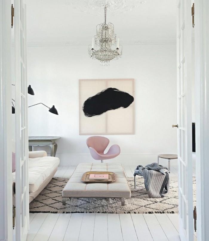 Durch marokkanische teppiche schaffen sie ein unikales - Teppich cremefarben ...