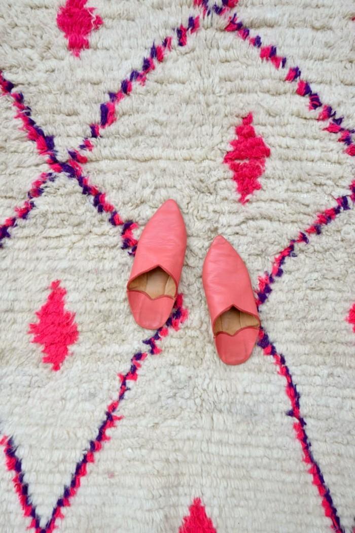 marokkanische teppiche farbig einladend attraktiv