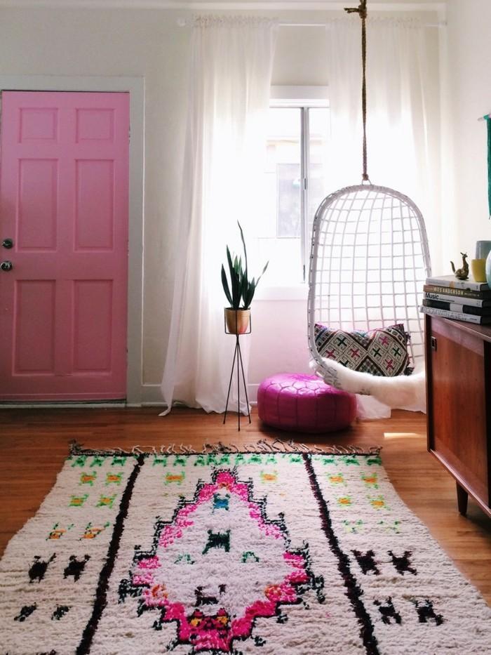 marokkanische teppiche farbig vintage look gemütlichkeit
