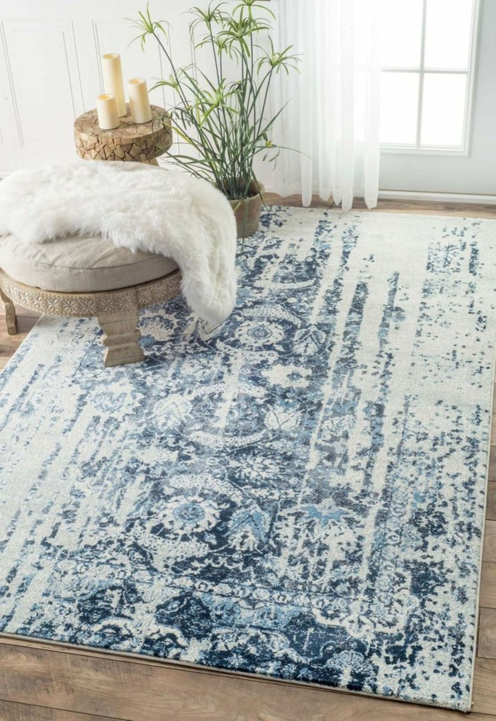Durch marokkanische teppiche schaffen sie ein unikales - Zimmer gema tlich gestalten ...
