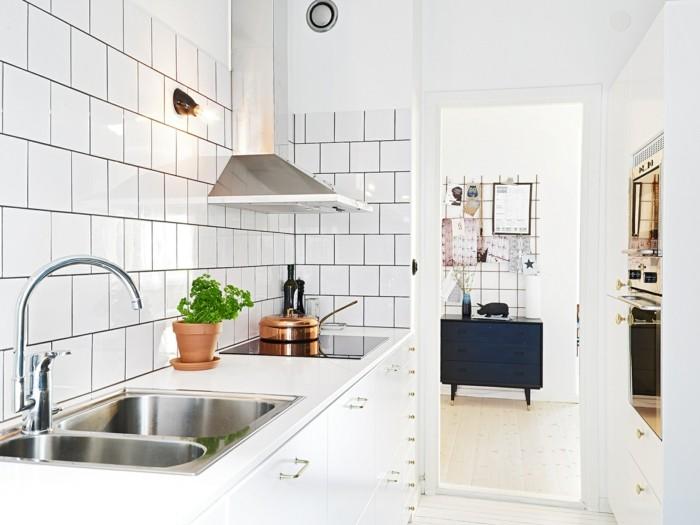 metrofliesen moderne wandfliesen weiß wohnideen küche