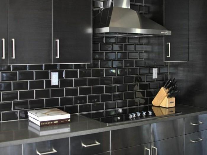 metrofliesen in k che und bad sch ne ideen f r wand und. Black Bedroom Furniture Sets. Home Design Ideas