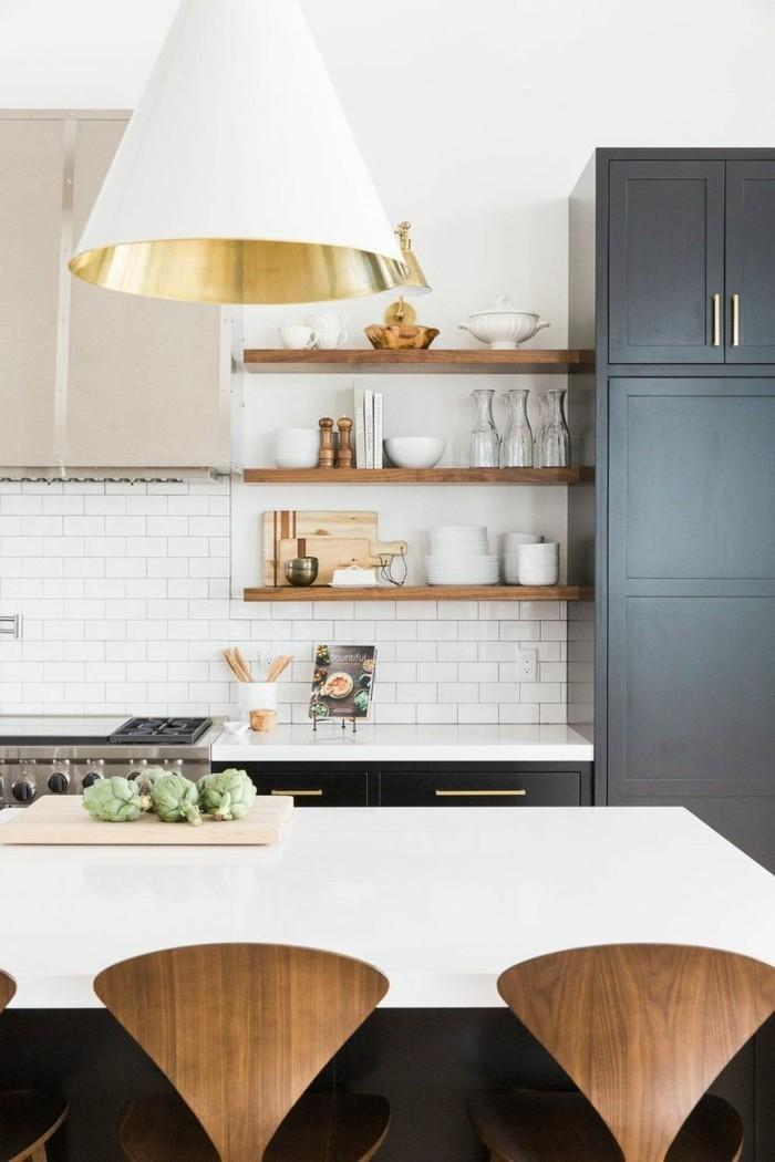 metrofliesen weiße wandfliesen küche kücheninsel weiße oberfläche