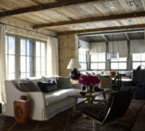 Steinwände im Innenraum: Moderne Einrichtungssstrategien
