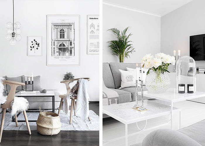 Minimalistisch Einrichten Elegante Deko Wohnideen Wohnzimmer