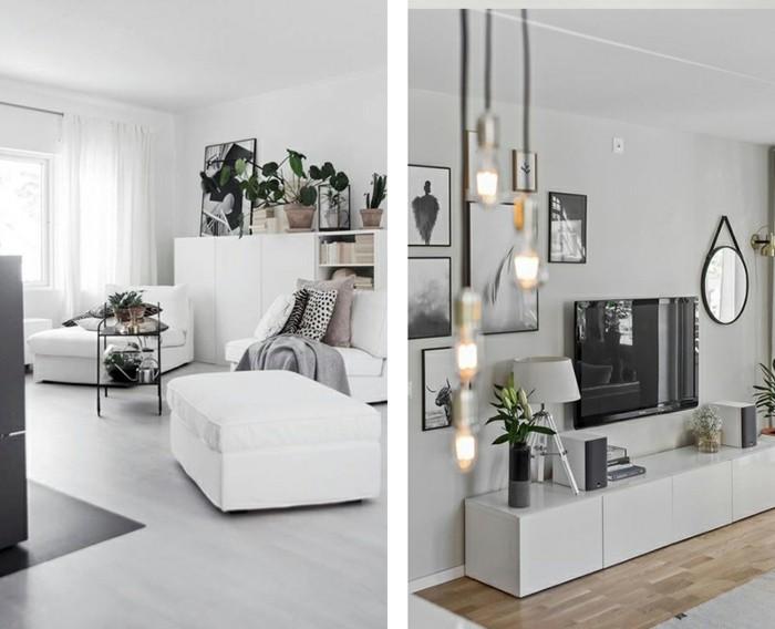 Wohnzimmer minimalistisch einrichten doch mit eigenem for Wohnzimmer mit pflanzen