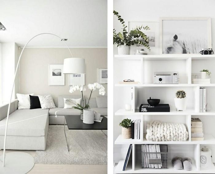 Wohnzimmer minimalistisch einrichten doch mit eigenem for Wohnzimmer mit holzdecke einrichten