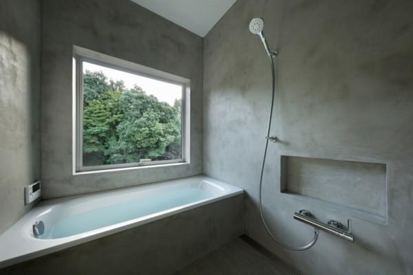 moderne architektur badewanne badezimmereinrichtung