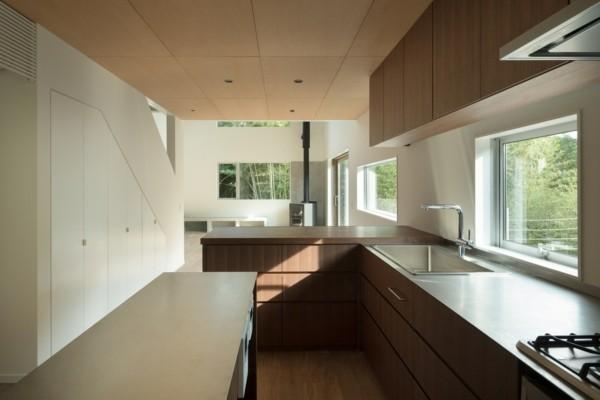 moderne architektur küchengestaltung