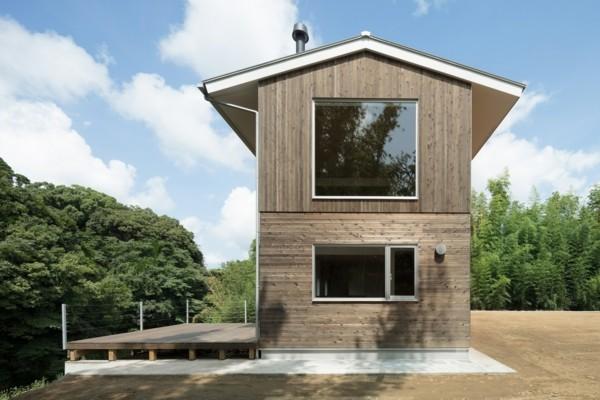 moderne architektur toll verglaste seite