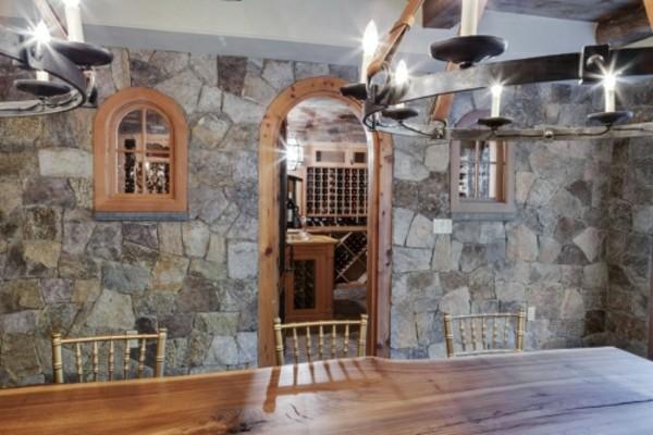 moderne kontraste steinwände dekoideen